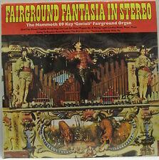 "12"" Lp de vinilo disco. feriante Fantasia en estéreo. mamut 89 clave ""Gavioli""."
