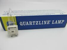 Lot of 8 GE Q45T4/CL 45W 6.6A Quartzline Lamp Bulbs, Airfield 2-Pin