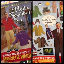 Mr Mister Rogers Magnetic Wardrobe Dress-Up Set FREE SHIPPING