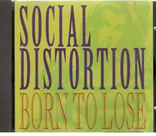 Social Distortion, Born to Lose; 2 track Promo-CD Single
