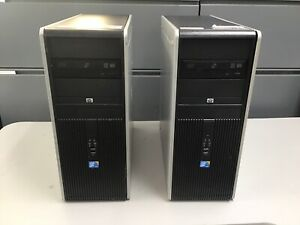 HP Compaq dc7900 Convertible Minitower With 4 GB Ram, Tower PC Desktop Computer