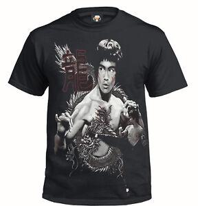BRUCE LEE DRAGON BLACK T-Shirt/Enter The Dragon/Martial Arts/Unisex/Gift/Top