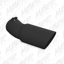 """Ford 6.7L Powerstroke MBRP 30-DEGREE BEND BLACK EXHAUST TIP (5""""  6''.."""