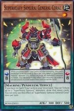 Superheavy Samurai General Coral (BOSH-EN011) -  Common First ed. Yugioh