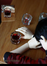 Lot 2pcs Drunk Whiskey Glass For SD17 Uncle Big hand BJD Doll Accessories AC15