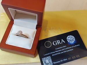 Certified Moissanite Diamond Ring , 1 Carat I VVS Clarity