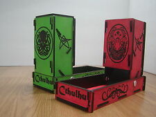 Fold-Down Dice Tower Roller Cthulhu theme