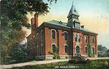 A View of the High School, Mt Morris NY 1920