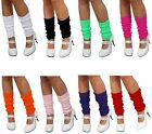 1980s Legwarmers 80s Fancy Dress Party Accessory Leg Warmers-Costume-neon-bright