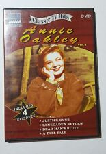Annie Oakley Vol. 1, Classic TV Hits DVD Includes 4 Episodes