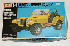 IMAI. AMC/Renault Jeep CJ-7 Model kit. Schaal 1/32. Small started.