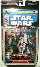 "Star Wars #2 Governor Tarkin & Stoormtrooper #03 Comic Pack 3.75"" Action Figures"