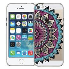 Protective Case Apple IPHONE 5 5S Se Silicone Case Pouch Mandala Case