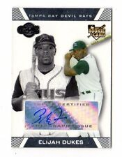 ELIJAH DUKES MLB 2007 TOPPS CO-SIGNERS AUTO RC (TAMPA BAY DEVIL RAYS,NATIONALS)