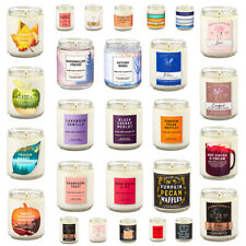 New Bath and Body Works Single Wick Scented Candles BBW 7oz - Home Fragrance