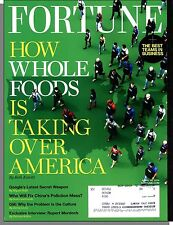 Fortune - 2014, April 28 - How Whole Foods is Taking Over America, Murdoch Q&A