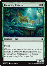 4x Pouncing Cheetah (Pirschender Gepard) Amonkhet Magic