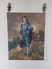 The Blue Boy by Thomas Gainsborough 1770 Vintage Print Litho Painting