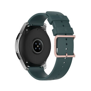 20/22mm Silicone Replacement Watch Wrist Strap For Samsung Galaxy Watch Amazfit