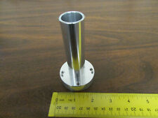 Machined Aluminum Tube With Thick Base Mounting Flange Steampunk Cosplay NOS