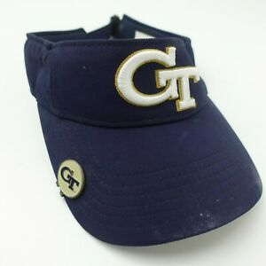 GT Under Armour Golf Visor Cap Hat Adjustable Adult