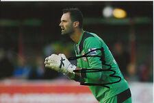 Cardiff City firmada a mano Joe Lewis 6x4 Foto 1.