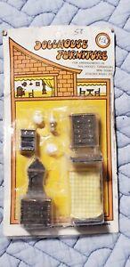 NOS Miniature Dollhouse Bedroom Furniture Shackman UNOPENED