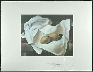 SALVADOR DALI * Still Life with two..* 50 x 60 cm * signed lithograph * limited