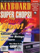 KEYBOARD Chops, Report on E-mu E5000 Ultra, ESI 2000, Marimba Lumina, Magazine