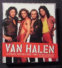 2008 VAN HALEN Visual History 1978-1984 by Neil Zlozower HC/DJ VF+/VF Chronicle