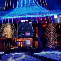 1.5Mx1.5M 96LED String Fairy Lights Net Mesh Curtain Chrismas Wedding Party