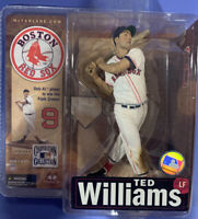 McFarlane MLB Cooperstown Collection Series 4 Ted Williams Boston Red Sox NEW J2