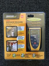 JOHNSON LASER DISTANCE MEASURE TAPE