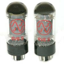 JJ/Tesla 6V6 Power Tubes, Matched Pair