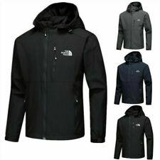 Herren The North Face Full Outdoor Jacke Zip Lässiger Soft Shell Coat Mantel Neu