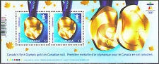 Canada 2010 Sc2371  MiB123  1 SS  mnh  1st Gold Medal on Vancouver