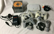 Sony Playstation 1 SCPH-102 Console With 6 Games And 4 Controllers #G1237