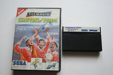 CHAMPIONS OF EUROPE pour Master System