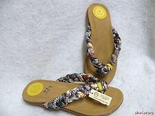 New Beautiful Boutique Amrita Singh Sandals 7M Soft Satin W/ Rhinestones
