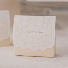 50  Wedding Engagement Anniversary Party Cake Favour Gift Box Boxes