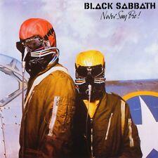 Black Sabbath-Never Say Die Vinyl LP Sticker or Magnet