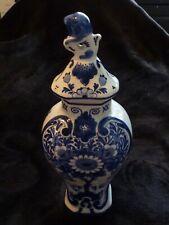 Vintage De Porceleyne Fles - Royal Delft Blue - Cabinet set - 7 inch - handpaint