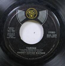 Soul 45 Johnny Guitar Watson - Tarzan / Lover Jones On Djm