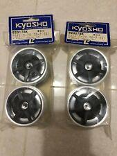 KYOSHO 92317BK 92327BK FRONT & REAR WHEEL FOR 1/10 ALFA ROMEO 155 V6 T1