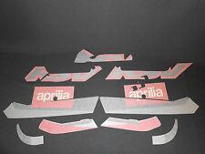 INCOMPLETE GENUINE APRILIA RSV 1000 01 DIABLO BLACK  FAIRING DECAL SET AP8167463