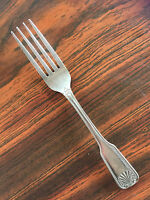 Coral by Wallace Brandware  Stainless  Shell Tip    1 Dinner Fork   7 5/8""