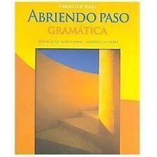 Abriendo Paso : Gramatica