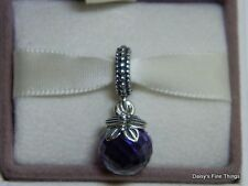 AUTHENTIC PANDORA CHARM PURPLE MORNING BUTTERFLY DANGLE #791258ACZ *SPECIAL*  P