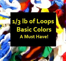 POTHOLDER LOOPS & FREE PATTERNS! 1/3 POUND~BASIC COLORS
