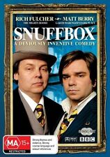 Snuffbox - DVD NEW & Sealed - Rare BBC TV Comedy 2008 R4 AUS Fulcher Berry Boosh